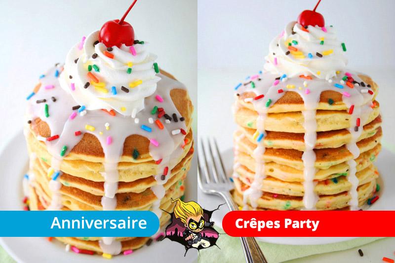 Crêpes Party anniversaire